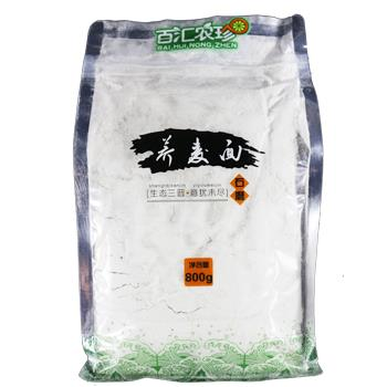 百汇农珍  山西特产新货荞麦荞麦面粗粮面粉800g/袋 包邮
