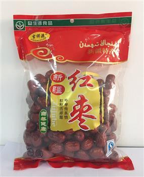 吉祥源 新疆红枣 新疆特产 500克/袋 3袋起售 包邮