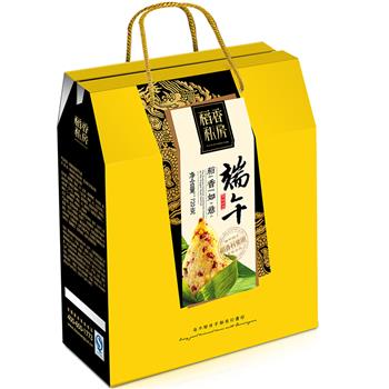 苏州稻香村粽子礼盒 稻香如意粽子礼盒720g