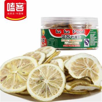 嗑客 柠檬片 烘干柠檬  38g