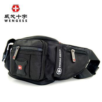 瑞士威戈十字腰包 零钱包 日常用包
