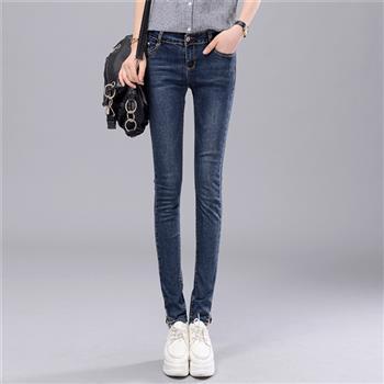春秋款 韓版女式牛仔褲批發 彈性緊身小腳褲1771