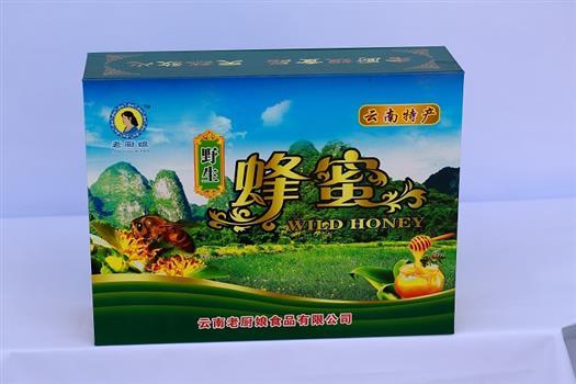 野生蜂蜜礼盒装600g/瓶     3瓶/盒